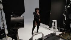 Blac Chyna | Behind the Scenes: Go behind the scenes at Blac Chyna's ELLE shoot.