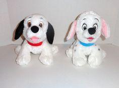 Disney Store 101 Dalmatians Plush Lucky & Penny Set #disney #toys