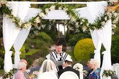 Jewish wedding at the Villa Ephrussi de Rothschild, French Riviera. Photography: Xavier Navarro I Planning: Lavender & Rose I N & R