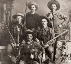 Long-guns of the gunfighters: For anyone who rode the gunpowder trail, a six-shooter wasn't the only weapon in his arsenal. Ranch Vacations, Vacation Home Rentals, Arizona Ghost Towns, Pat Garrett, Colt Single Action Army, Wild West Theme, Robert G, American Frontier, Western World