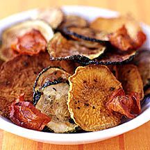 Oven-Roasted Herbed-Vegetable Chips Recipe | Weight Watchers Canada