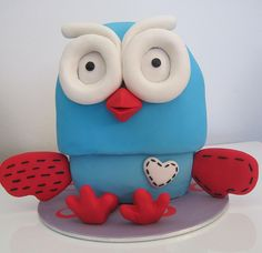 Giggle And Hoot Cake Template