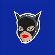 Catwoman, Graphic Design, Superhero, Fictional Characters, Color, Art, Art Background, Colour, Kunst