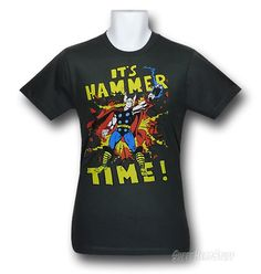 Images of Thor Time of the Hammer 30 Single T-Shirt