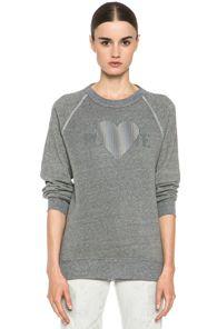 Rodarte sweatshirt, worn here http://chicityfashion.com/refinery29-outtakes/