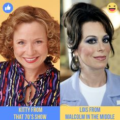 Which Classic TV Mom Hairstyle is better? = Kitty from That Show = Lois from Malcolm In The Middle 70 Show, That 70s Show, Tv Moms, Mom Hairstyles, Classic Tv, Red Carpet, Middle, Kitty, Celebs