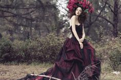 Forest-Inspired Headpieces : ashley lloyd