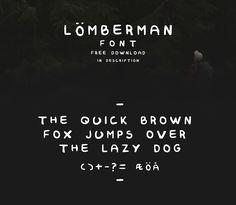Lumberman (free font) on Behance