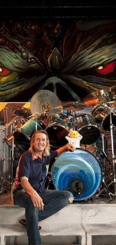 Nicko McBrain. Most interesting drummer in metal