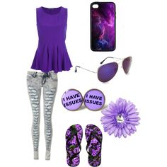 """Purple"" by sweetsami21 on Polyvore"