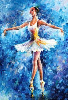 Ballerina Artwork: #989 of 2334 by Leonid Afremov