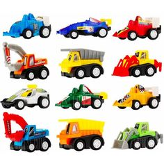 feuille symbol course de camion | Gear Best: Mini Construction Vehicle and Racing Car Set ...