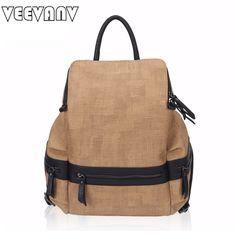 2017 VEEVANV Women Backpacks Female Shoulder Bag Laptop School Backpacks Fashion Canvas Backpacks for Girls Travel Bags Rucksack #Affiliate
