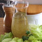 """Vinaigrette Salad Dressing with Add-Ins - Homemade vinaigrette-style (oil and vinegar) salad dressing is easy and takes only a few minutes to """"whisk together""""....try it, you may never buy bottled dressing again."""