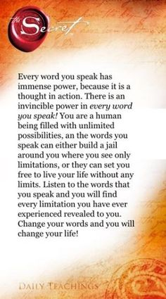 The Secret ~ Law of Attraction ❤ by Black Dahlia