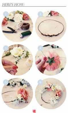 DIY Flower Halos