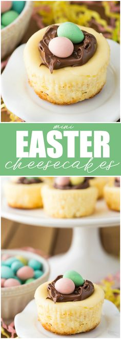 Mini Easter Cheeseca