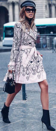 Street Style ~Annabelle Fleur PFW '18.