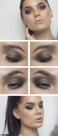 Todays look – Soft Brown smoky