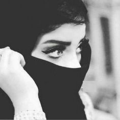 Hijabi Girl, Girl Hijab, Arab Girls, Muslim Girls, Lovely Girl Image, Girls Image, Dark Photography, Girl Photography Poses, Cute Eyes