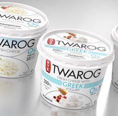 TWAROG - Fresh Cheese by Paweł Windys, via Behance
