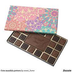 Cute mandala pattern assorted chocolates