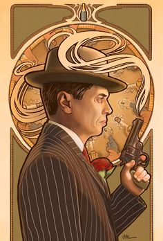 Cool Art: 'Boardwalk Empire Nouveau'