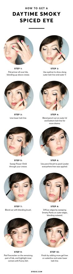 How to create a daytime smoky eye