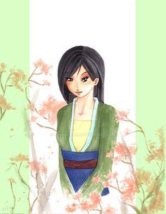 Mulan by Shiina-kun.deviantart.com on @DeviantArt