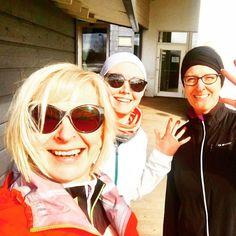 Naistenkymppiin? Yes! Tule sinäkin mukaan! Treeni alkoi eilen ja 2 km jälkeen piti jo saada ruokaa @ravintola_huili Jos kiinnostelee kommentoi tähän tai pistä yv. Meidän jengiin #hyväjäke mahtuvat kävelijät ja juoksijat mukaan. #naistenkymppi #naistenkymppi2017 #järvenpää #futuremarja #juoksu #emalikukanyrittäjät w/ @mustonen_maria @satu.hart