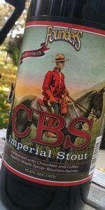 Founders CBS Imperial Stout - Founders Brewing Company - Grand Rapids, MI - BeerAdvocate