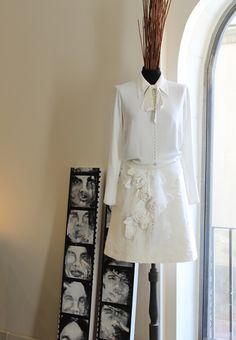 Wedding dress by Madre Mía del Amor Hermoso. Barcelona. vestido de novia