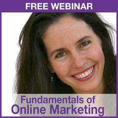 Free Webinar 9/18 on the Fundamentals of Online Marketing - http://www.websitecreationworkshop.com/diy/call/fundamentals/