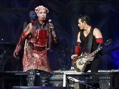 Till Lindemann and Richard Kruspe