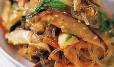 Easy Korean food . . . japchae is my fave!