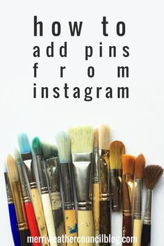 How to Pin from Instagram: Pin your instagram photos to pinterest.   via @borntobesocial