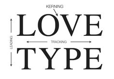 "Kearning VS Tracking VS Leading (not gonna lie, I can never remember which is which...) ""8 Simple and Useful Tips for Kerning Type"""