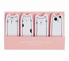 kikki.k | adhesive notes. cats