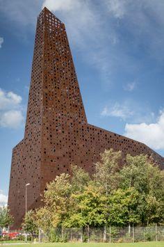 Erick van Egeraat-designed Energy Tower to supply electricity & heat power for Roskilde