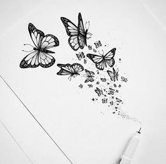 So pretty 😊 artis butterfly tattoo tattoo designs, tattoos, flower tattoos. Spine Tattoos, Cover Up Tattoos, Tattoo Drawings, Body Art Tattoos, Small Tattoos, Sleeve Tattoos, Butterfly Sketch, Butterfly Tattoo Cover Up, Butterfly Tattoo Designs
