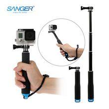 the best Sj4000 diving handheld gopro3/3+/4 XIAOMI YI selfie stick GoPro accessories sale
