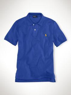Classic-Fit Short-Sleeved Polo - Boys 8-20 Polos - RalphLauren.com