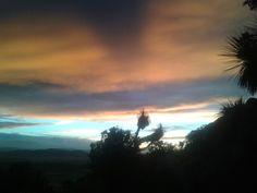 Red sky Sky, Celestial, Sunset, Landscape, Outdoor, Heaven, Outdoors, Scenery, Heavens