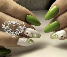 New nail art trends bring you unlimited nail design inspiration - Page 46 of 117 - Inspiration Diary 3d Nails, Acrylic Nails, Spring Nails, Summer Nails, Uñas One Stroke, Nail Art Designs, Nail Candy, Flower Nail Art, New Nail Art
