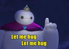 """Let me hug"" 2/3"