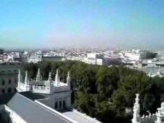 ▶ Desde la azotea del Palacio de Cibeles (Ayto. de Madrid) - YouTube