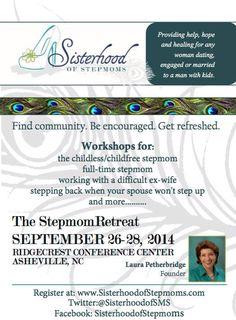 Just in case you live in my area: www.sisterhoodofstepmoms.com