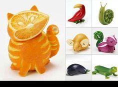 Creative  snacks- cute!