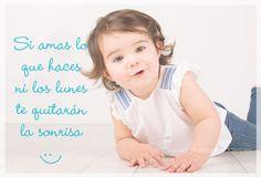 Si amas lo que haces ni los lunes te quitarán la sonrisa http://fotobbreportajes.es