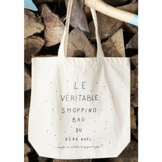shopping bag Père Noël